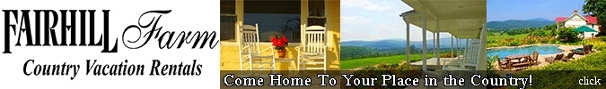 Fairhill Farm Country Vacation Rentals