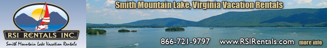 Smith Mountain Lake Cabin Rentals